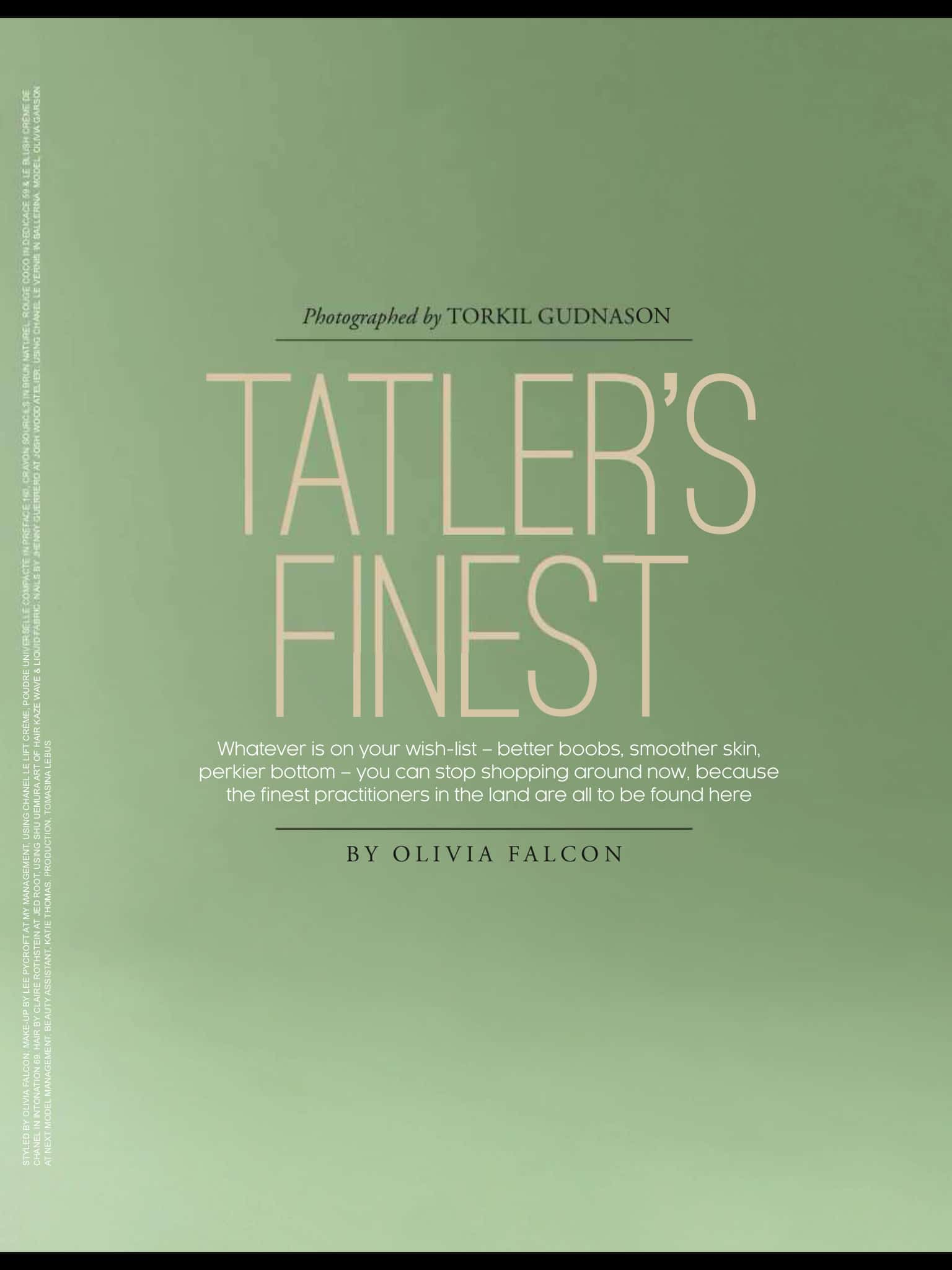 Tatlers Finest