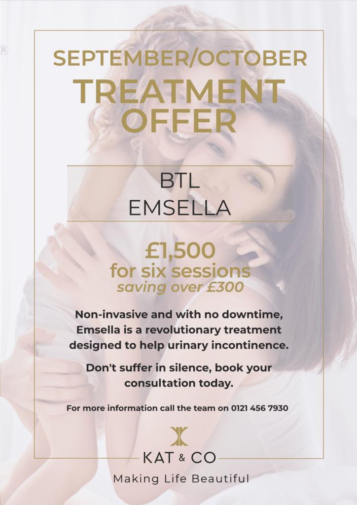September treatment offer