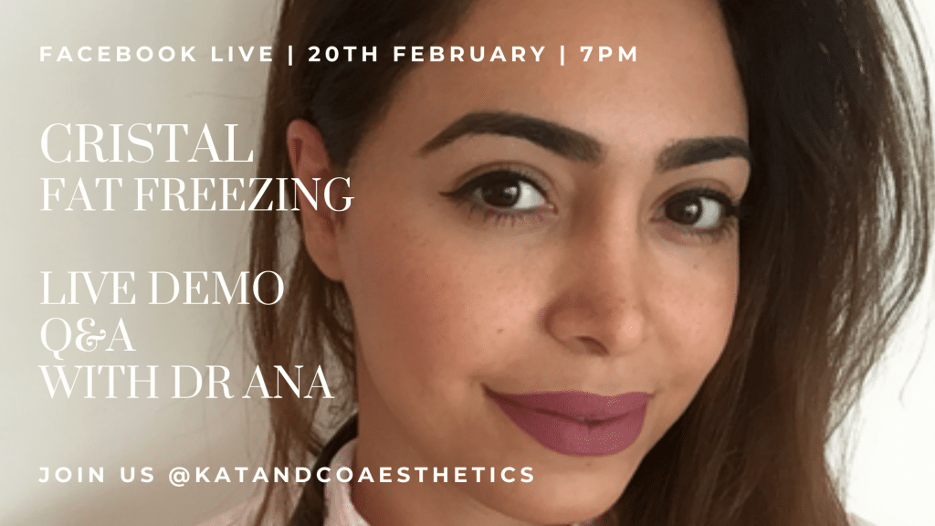 Fat Freezing Live Demo with Dr Ana