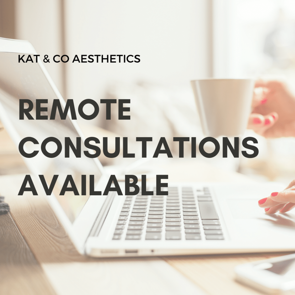 Remote consultations available at Kat&Co